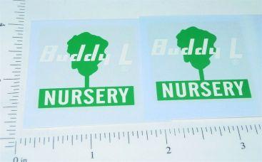 Buddy L GMC Nursery Truck Replacement Sticker Set Main Image