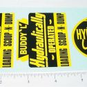 Buddy L Hyd Operated Scoop N Dump Stickers Main Image