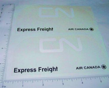 Pair Buddy L CN Freight Transport Van Sticker Set Main Image