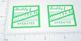 Buddy L Hydraulically Operated Truck Stickers