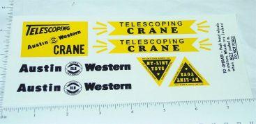 Nylint Austin Western Telescoping Crane Stickers Main Image