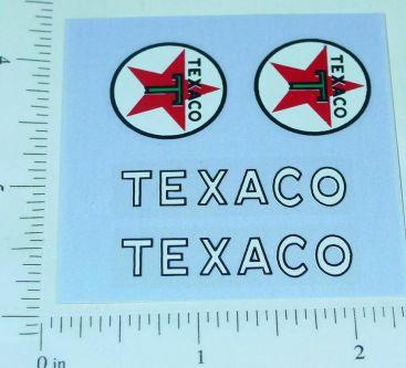 Nylint Texaco Ford Econoline Van Stickers Main Image
