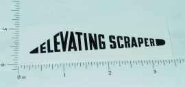 Nylint Elevating Scraper Construction Toy Sticker