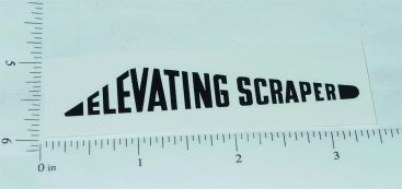 Nylint Elevating Scraper Construction Toy Sticker Main Image
