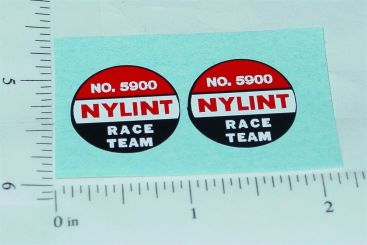 Nylint #5900 Ford Econoline Race Team Stickers Main Image