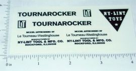 Nylint Tournarocker Construction Toy Stickers