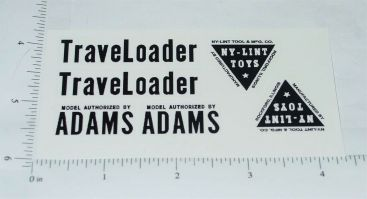 Nylint Adams Traveloader Const Toy Stickers Main Image