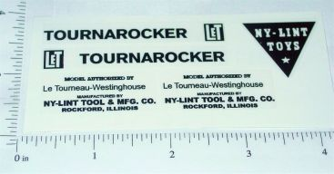 Nylint Tournarocker Construction Toy Stickers Main Image