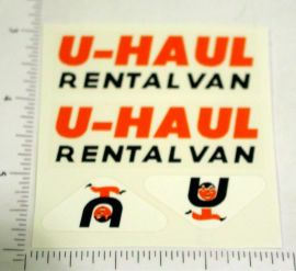 Nylint U-Haul Rental Van Replacement Stickers
