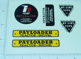 Nylint Hough Payloader (tracked) Stickers