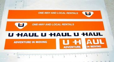 Nylint U-Haul Cube Van Replacement Stickers Main Image