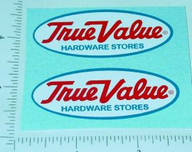 Nylint True Value Hardware Ford Pickup Stickers