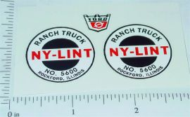 Nylint 5600 Ranch Truck Replacement Sticker Set