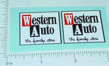 Nylint Western Auto Econoline Pickup Stickers Main Image
