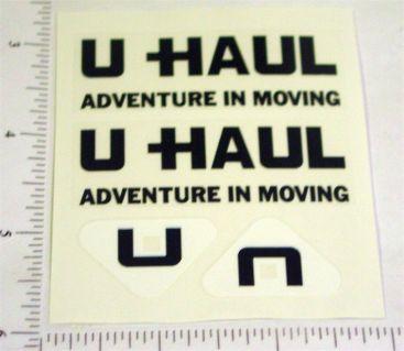 Nylint U-Haul Rental Van Replacement Stickers Main Image