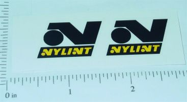Nylint Black/Yellow Replacement Stickers Main Image