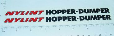 Nylint Hopper Dumper Trailer Sticker Set Main Image