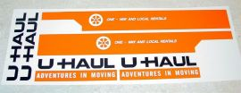 Nylint U-Haul Over Cab Moving Van Stickers