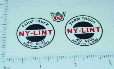 Nylint #5600 Farm Truck Replacement Stickers Main Image