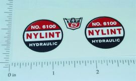 Nylint #6100 Hydraulic Dump Truck Sticker Set