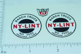 Nylint #4500 Ranch Truck Replacement Stickers