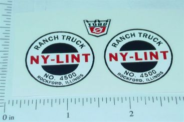 Nylint #4500 Ranch Truck Replacement Stickers Main Image