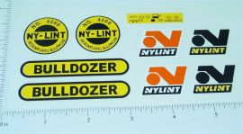 Nylint Bulldozer Construction Toy Stickers