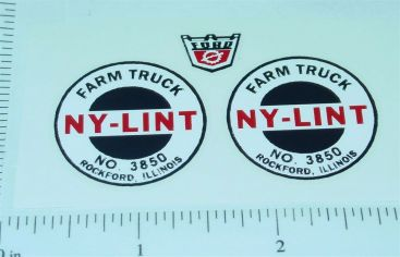 Nylint #3850 Farm Truck Replacement Stickers Main Image
