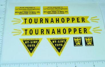 Nylint Orange Tournahopper Vehicle Sticker Set Main Image