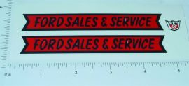 Nylint Ford Sales & Service Pickup Stickers