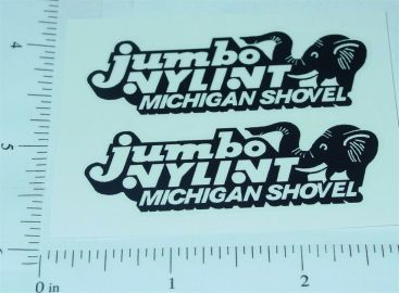 Nylint Jumbo Michigan Crane Stickers Main Image