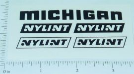 Nylint New Style Michigan Crane Stickers