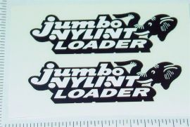 Nylint Jumbo Loader Sticker Set