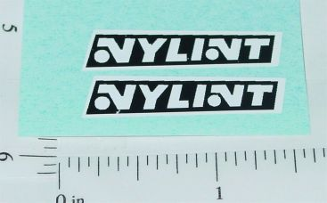 Nylint Later Style Logo Door Stickers Main Image