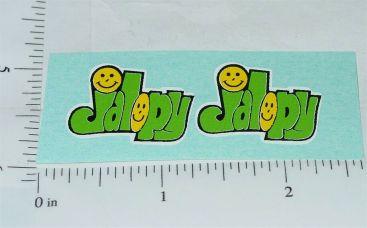 Nylint Jalopy Hot Rod Toy Car Sticker Set Main Image