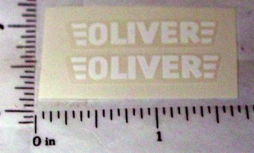 Oliver Farm Implement Replacement Sticker Main Image