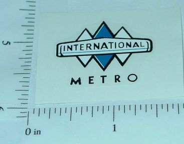 Product Miniature IHC Metro Van Roof Sticker Main Image
