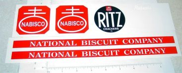 Roberts Nabisco Ritz Crackers Van Sticker Set Main Image