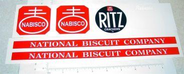 Roberts Nabisco Ritz Crackers Van Sticker Set Main Image