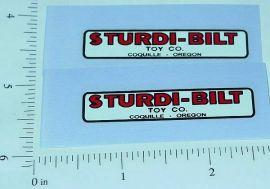 Kingsbury Parcel Delivery Truck Sticker Set      KG-004