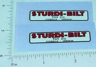 Sturdi-Bilt Trucks Replacement Logo Stickers Main Image