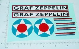 Steelcraft Graf Zeppelin Replacement Stickers
