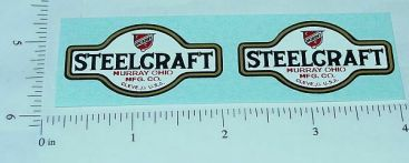 Steelcraft Toy Trucks Replacement Logo Stickers Main Image