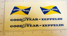Steelcraft Goodyear Zeppelin Sticker Set