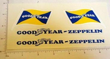 Steelcraft Goodyear Zeppelin Sticker Set Main Image