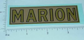 Steelcraft Marion Shovel Replacement Sticker