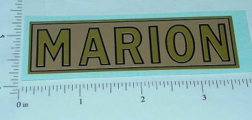 Steelcraft Marion Shovel Replacement Sticker Main Image