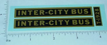 Steelcraft Intercity Bus Replacement Stickers Main Image