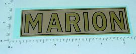 Steelcraft Marion Shovel Large Sticker