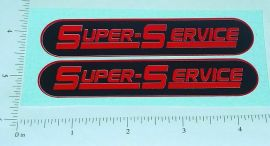 Steelcraft Super Service Wrecker Truck Stickers